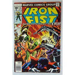 1977 IRON FIST battle against X-MEN, John Byrne Art