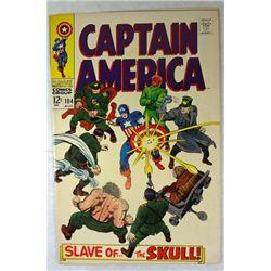 1968 Captain America Marvel Comic Book , Kirby Art
