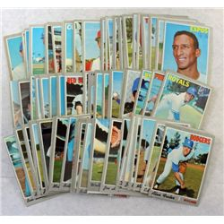 100 - 1970 Topps Baseball Cards (All different)