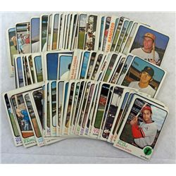 100 - Different 1973 Topps Baseball Cards.  Nice Excellent - VGEX