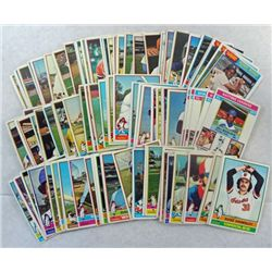 100 - 1976  TOPPS BASEBALL CARDS - ALL DIFFERENT