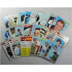 1970 Topps lot High #'s and star cards  EX or better :10-170-220-432-456-457-466