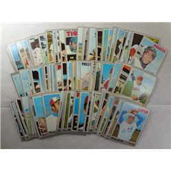 100 different 1970 Topps baseball  EX or better and not all common  est