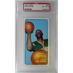 1970 TOPPS ELVIN HAYES #70 PSA NM-MT 8