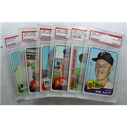 6-1965 TOPPS BASEBALL PSA NM-MT 8