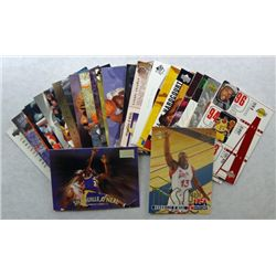 25-SHAQUILLE O'NEAL BASKETBALL CARDS, ALL DIFFERENT PREMUIM BRANDS
