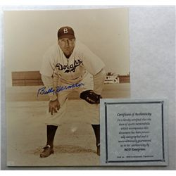 BILLY HERMAN AUTOGRAPH PHOTO