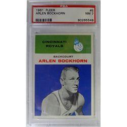 1961 Fleer Basketball #5 Arlen Bockhorn PSA NM 7