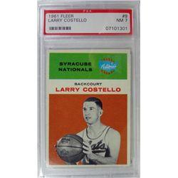1961 Fleer Basketball #9 Larry Costello PSA NM 7