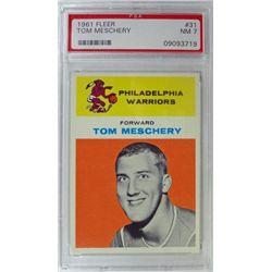 1961 Fleer Basketball #31 Tom Meschery PSA NM7 ROOKIE