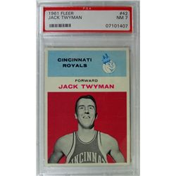 1961 Fleer Basketball #42 Jack Twyman PSA NM7