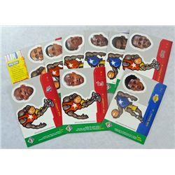 "9 Upper Deck Choice ""Card/Hologram"" Basketball Cards"