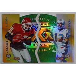 PAIR NFL EXPERIENCE/CLASSIC FOOTBALL CARDS