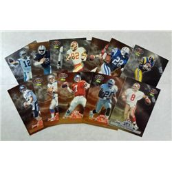 """12-NFL Experience/Classic Football Cards """"Game Card Edition"""""""