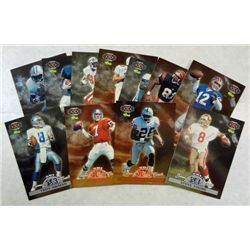 """11 NFL Experience/Classic Football Cards """"Game Card Edition"""""""