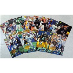 NFL Experience/Classic Football Cards   Gold Seal Each Card is 1 of 799