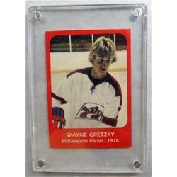 "1978 Wayne Gretzky ""Indianapolis Racers""  Hockey Card    RARE!!!"