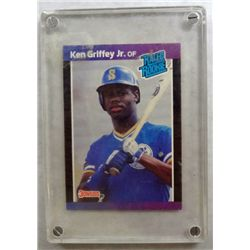 "1989 Ken Griffey Jr.   Seattle Mariners   ""ROOKIE CARD""   RARE!!!!"