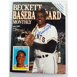 Willie Mays Autograph on Beckett Baseball Price Guide