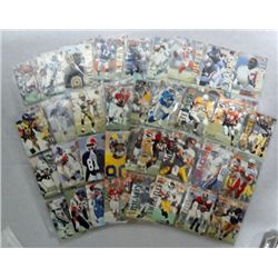 Set of 1995 Action Packed Football Cards