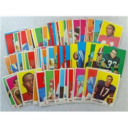85 1969 Topps football cards