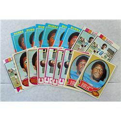 2 Bubba Smith  COLTS DEF END rookie cards 1970 T #114 EX & EXMNT-4 72 T exmnt-