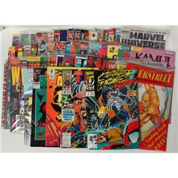 50- Misc Comic Books, The Mighty Thor, Mecha & Ghost Rider, Late 80's / 90's