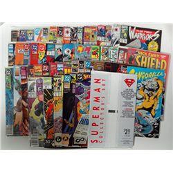 50-Comic Book Heroes Lot, Superman, X-Men, Star Trek