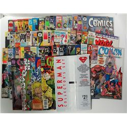 50-Comic Books features Superman Collector's Set, Green Arrow, Aquaman and more