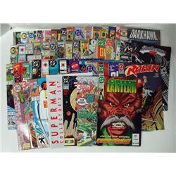50-Comic Books Green Lantern, Superman, Star Trek and more