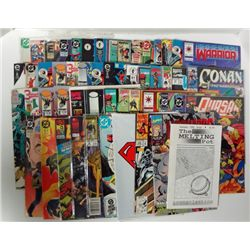 50-Comic Books The Amazing Spiderman, Superman, Warheads Black Dawn