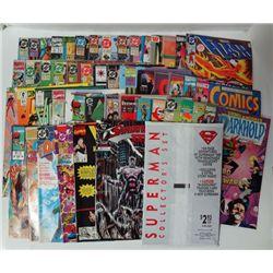 50-Misc Comic Books, Shadow Hawk III, WCW World Championship Wrestling and more