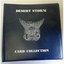1991 PRO-SET    DESERT STORM SET