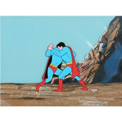 Filmation TV Superman Animation Production Cel