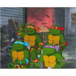 Original Teenage Mutant Ninja Turtles Animation Production Cels
