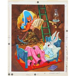 1971 Original Bugs Bunny Frame-Tray Puzzle Artwork