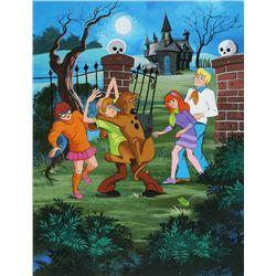 1972 Scooby-Doo, Where Are You? Frame-Tray Puzzle Original Artwork