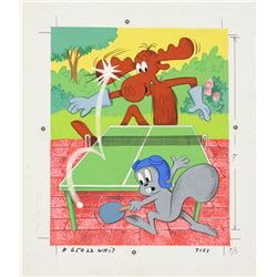 1976 Bullwinkle Frame-Tray Puzzle Artwork
