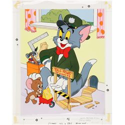 1983 Tom and Jerry Jigsaw Puzzle Original Artwork