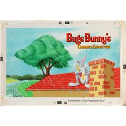 1962 Bugs Bunny's Chimney Adventure Book Original Artwork