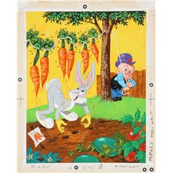 1971 Bugs Bunny Frame-Tray puzzle original artwork