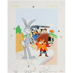 1977 Bugs Bunny and His Friends Coloring Book Original Artwork