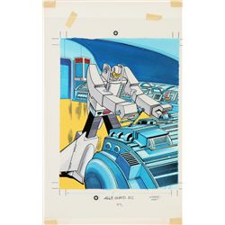 1985 Gobots Leader One Jigsaw Puzzle Original Artwork