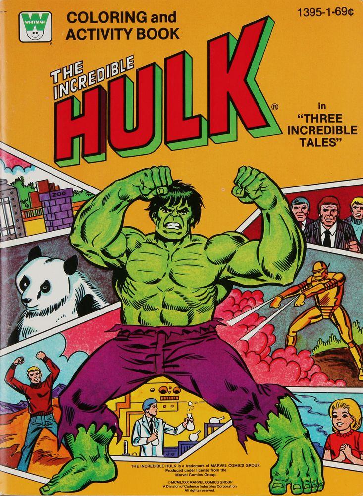 Hulk Coloring Book