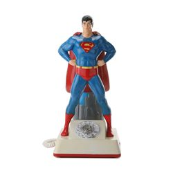 Original 1980 C.E.S. Premiere Edition Superman Rotary Telephone