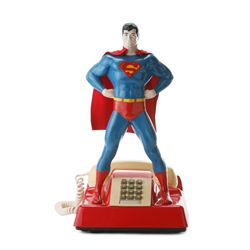 Rare 1978 MicroCommunications Corp Superman Telephone