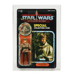 Star Wars POTF 92 Back Luke Skywalker in Battle Roncho