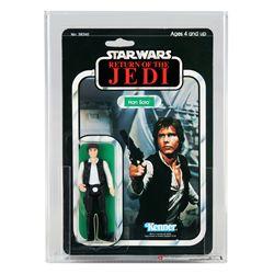 Star Wars ROTJ 65 Back-A Han Solo