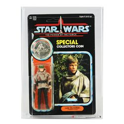 Star Wars POTF 92 Back Luke Battle Poncho