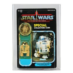 Star Wars POTF 92 Back R2-D2 Pop-up Saber